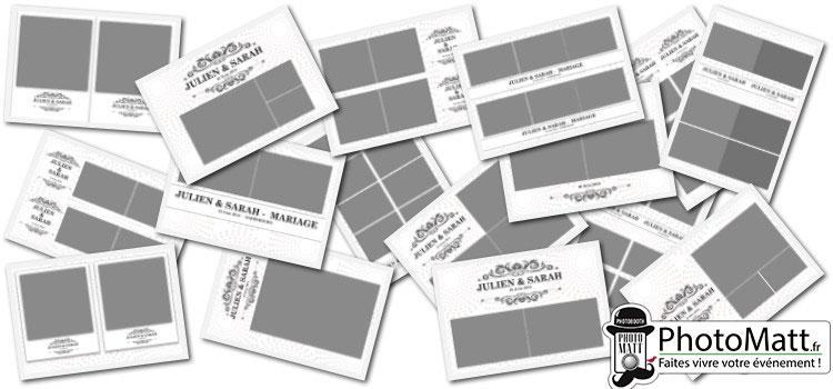 Les modèles de présentation pour le PhotoMatt